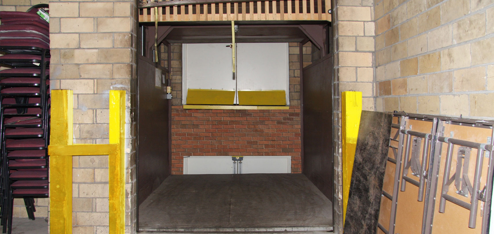 Muskingum Conventions Facilities Authority Amenities Freight Elevator
